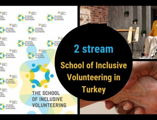 A group of students from the second stream of the School of Inclusive Volunteering in Turkey will start classes tomorrow