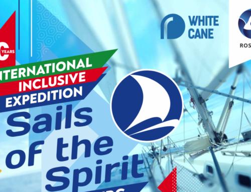Гонка в открытом море: 17 этап международной инклюзивной экспедиции «Паруса духа 2021»
