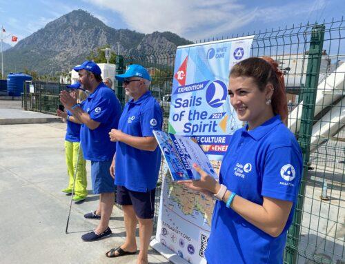 """International inclusive regatta """"Sails of the Spirit"""" was held in Antalya"""